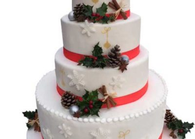 "Wedding-cake ""Christmas"""