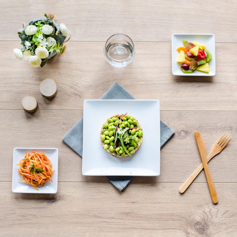 plateau repas végétalien vegan sichuan
