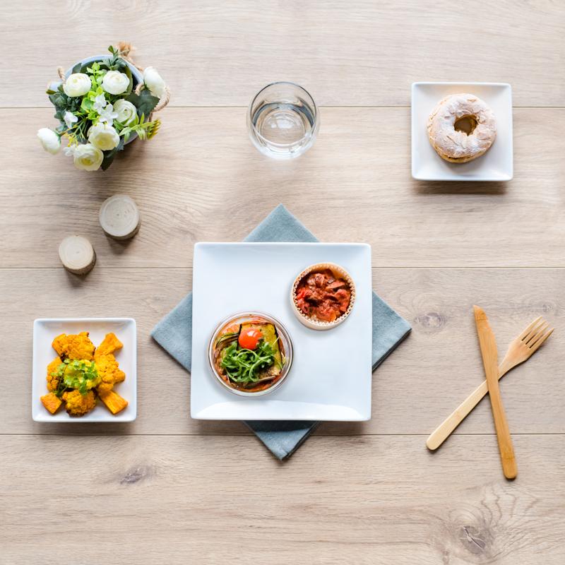 plateau repas végétarien à réchauffer capri