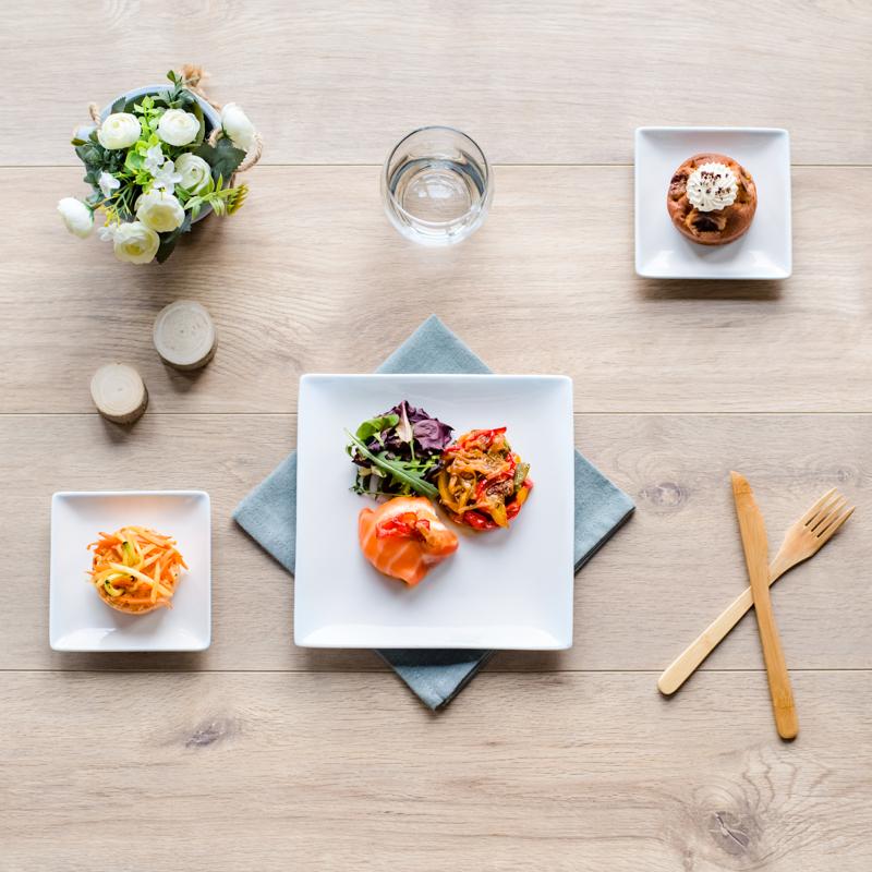 plateau repas végétarien oslo