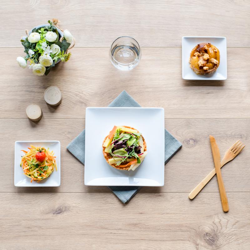 plateau repas végétarien santiago