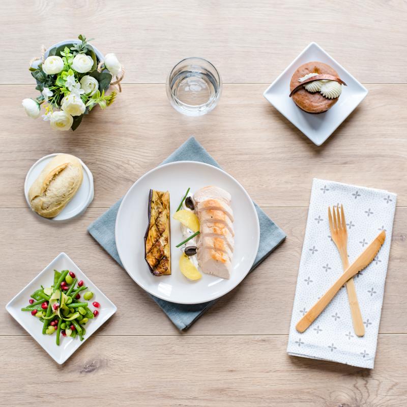 plateau repas viande sans gluten compostelle