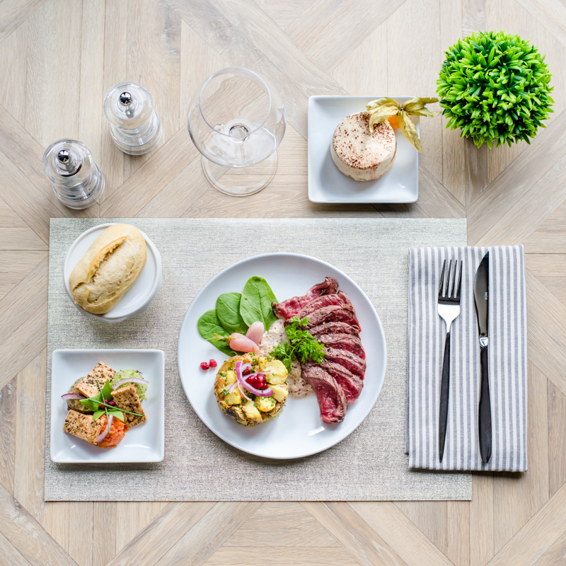 plateau repas viande clermont